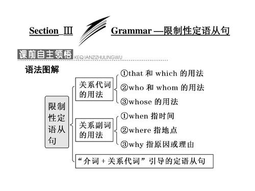 非限定性定语从句的引导词